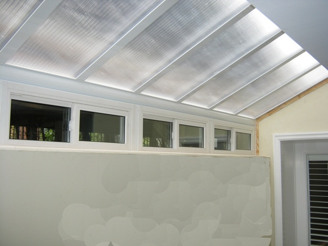 basement bedroom roof, allows lite and preserve privacy.