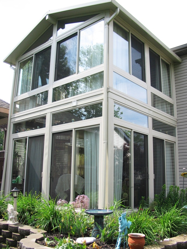 Double Decker sunroom, all seasons
