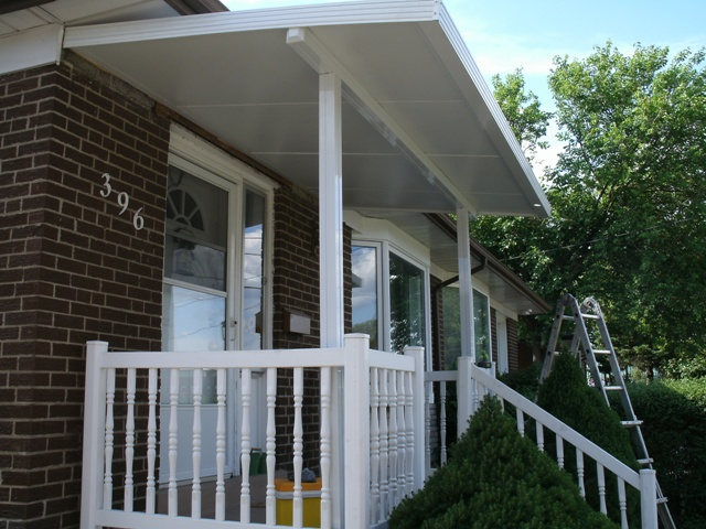 insulated porch cover.