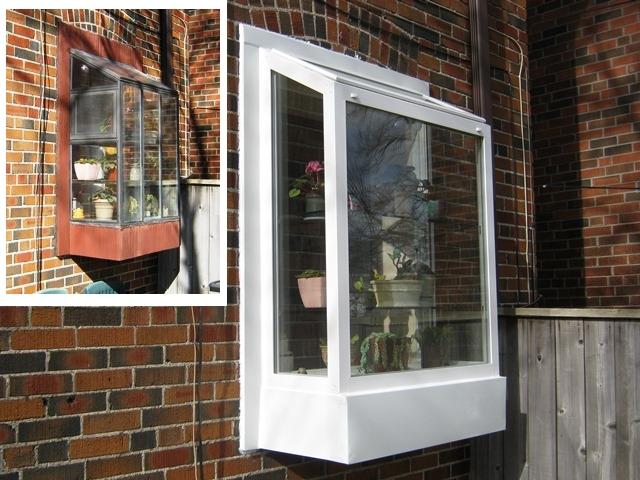 Top vent greenhouse window