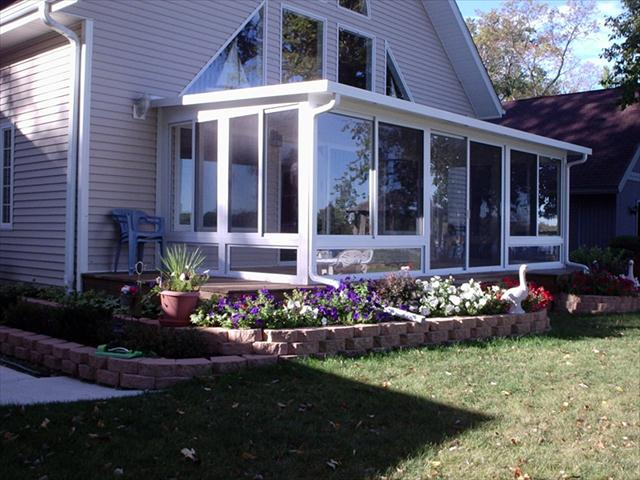 Studio style sunroom, insulated