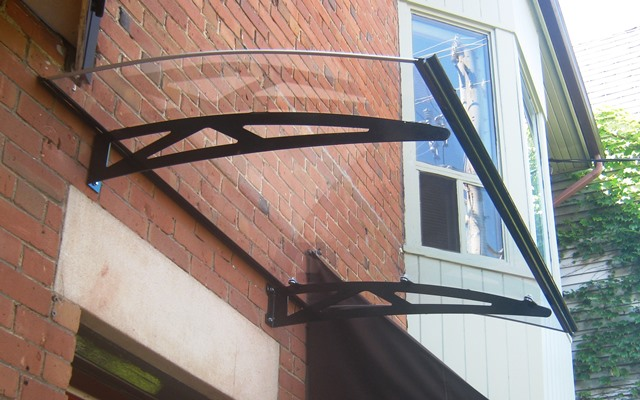 clear awning type B