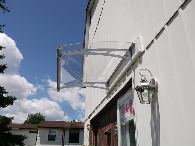 clear_awning over siding