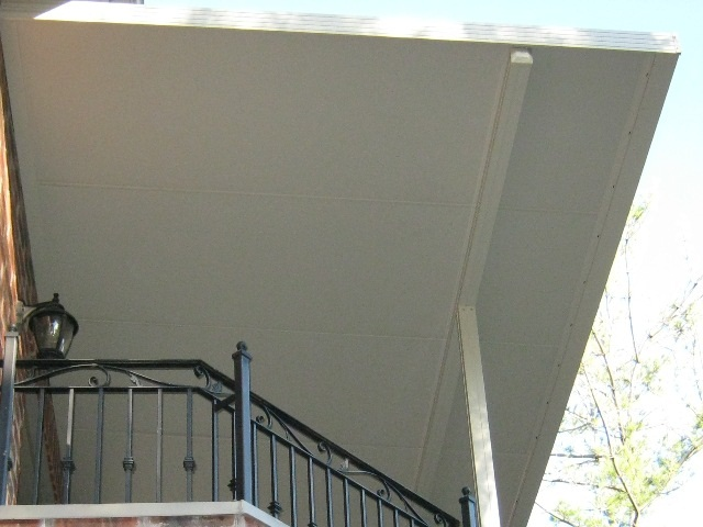 insulated balcony cover.