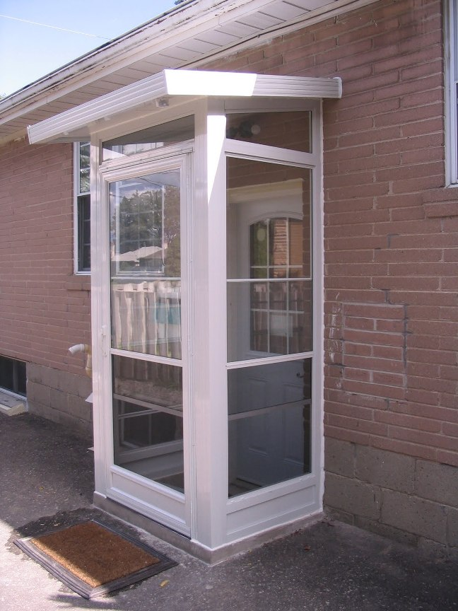 \u0027phone booth\u0027 side door enclosure size limited by parking area. Note that & Porch enclosures - Sepio weather shelters Pezcame.Com