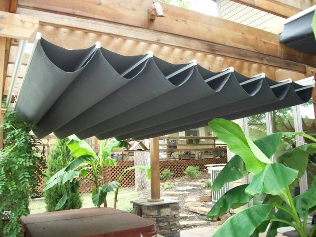 Lovely Retractable Canopy & Retractable Fabric Canopy - Home Design Ideas and Pictures