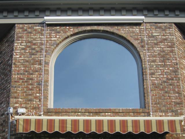 Round top window sunproof