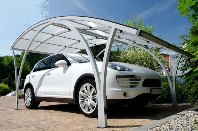 Porsche Cayenne carport
