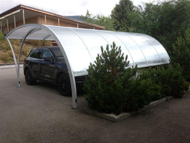 BMW carport